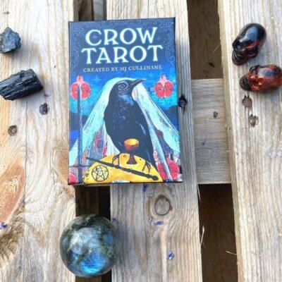 Crow tarot kort