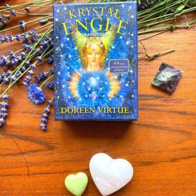 Doreen Virtue: Krystal engle orakelkort