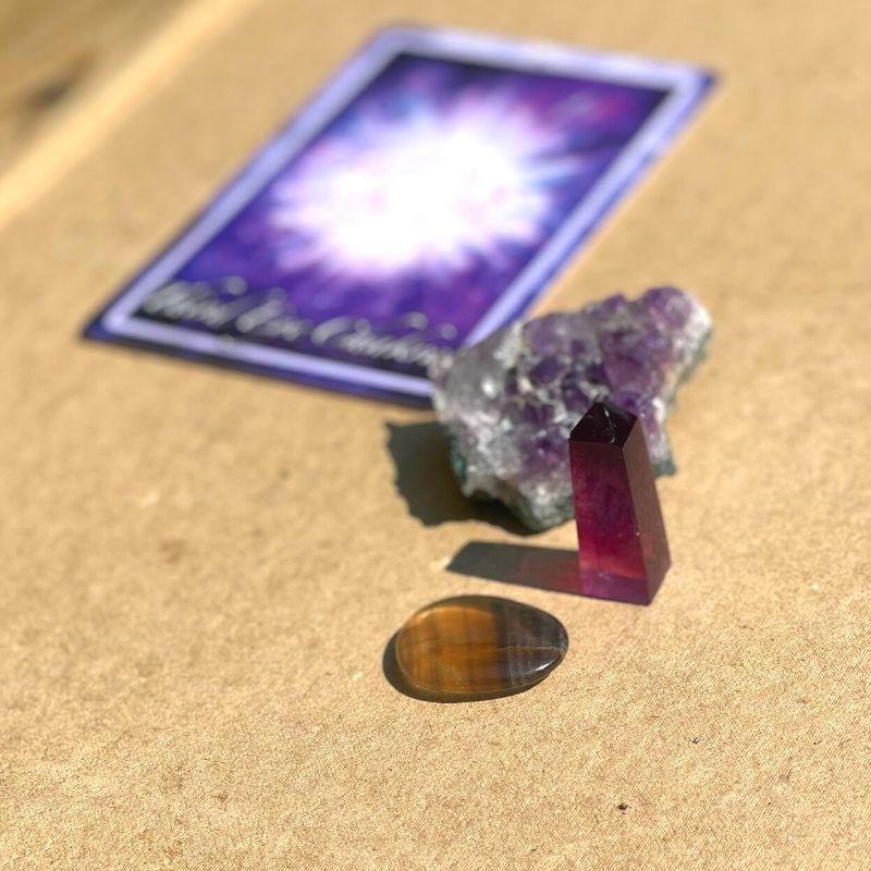 Pandechakra kort og sten
