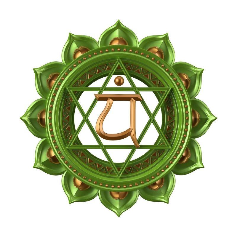 Hjerte chakra grøn