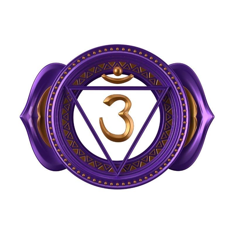Krone chakra symbol