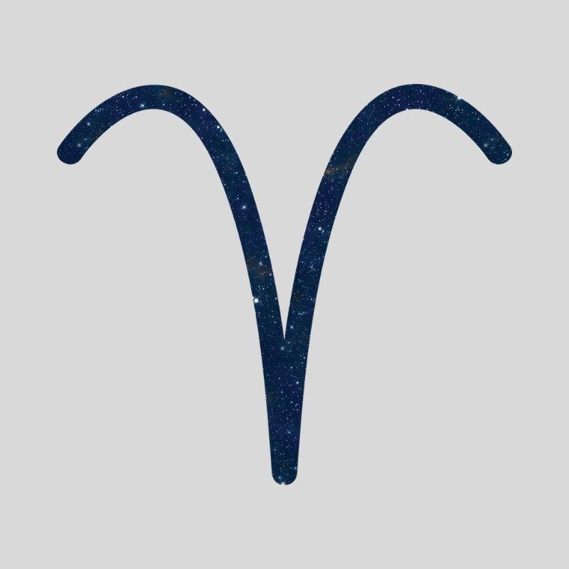 Vædderens stjernetegn symbol