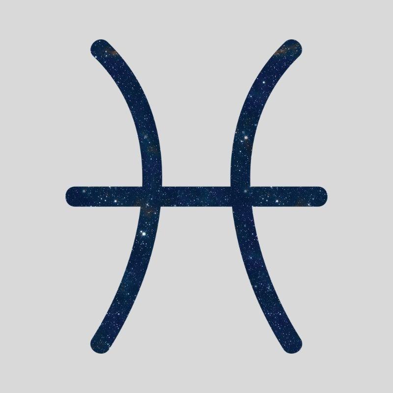 Fiskenes stjernetegn symbol